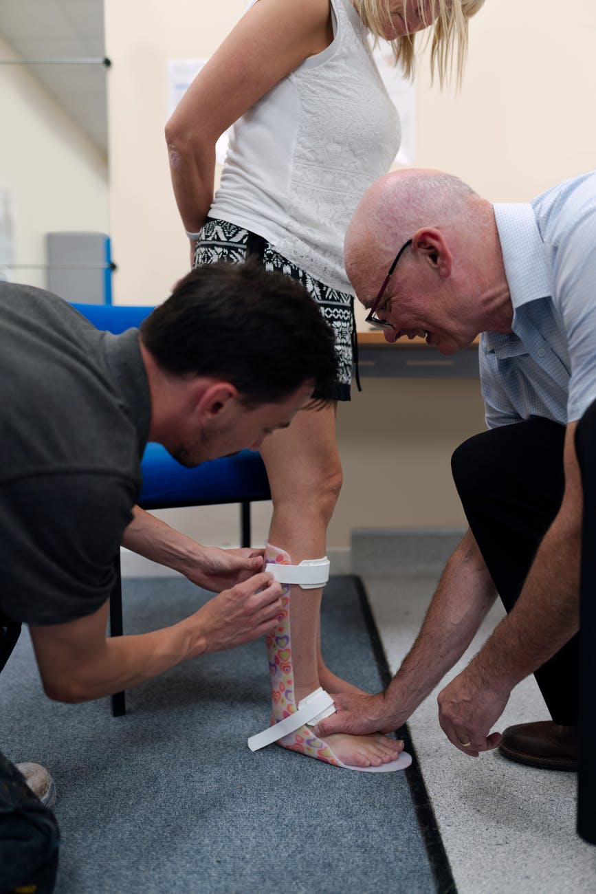 fitting for ankle foot orthosis
